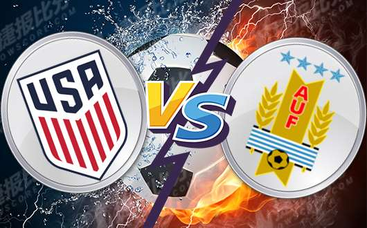 美国vs乌拉圭 乌拉圭整体状态十分出色