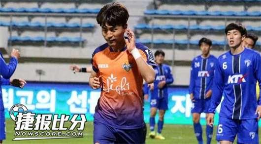仁川联vs江原FC 升班马脱缰狂奔