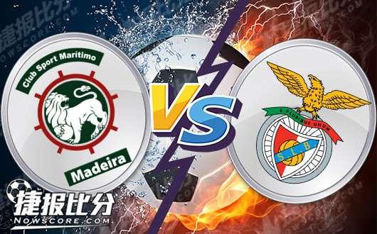 马里迪莫vs本菲卡 本菲卡三分不在话下