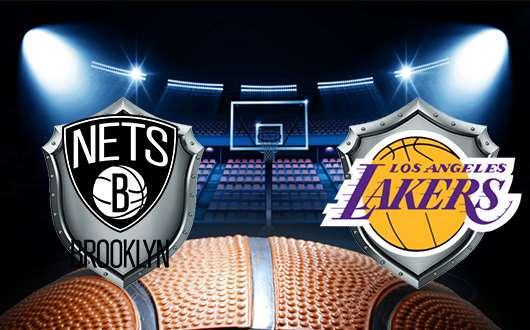 布鲁克林篮网vs洛杉矶湖人 防守拿下比赛