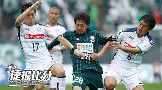 冈山绿雉vs岐阜FC 冈山绿雉竟然沦落到平手盘的地步