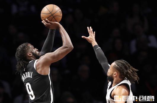 布鲁克林篮网vs费城76人 双方竞争激烈