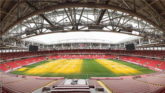 2018世界杯举办球场一览:斯巴达克体育场(莫斯科)