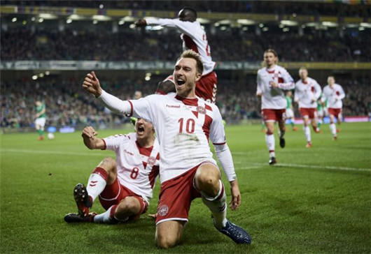 """2018世界杯丹麦队前瞻:""""丹麦童话""""延续靠埃里克森"""