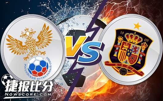 俄罗斯vs西班牙 斗牛士热身赛未必继续较真