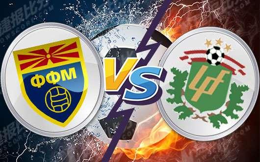马其顿vs拉脱维亚 马其顿一马当先