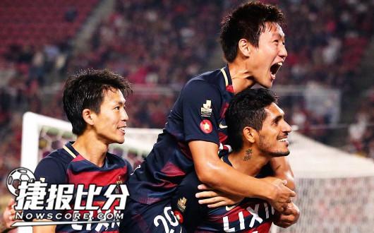 东京fcvs鹿岛鹿角 鹿岛平半客让并不疲软-足球分析