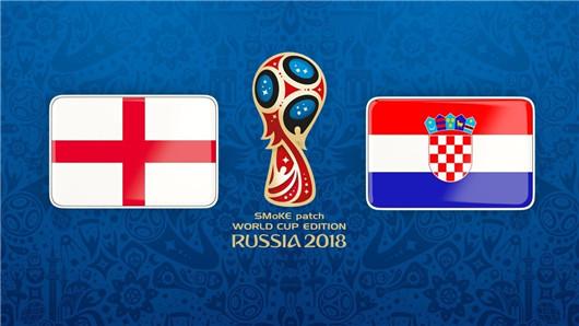 克罗地亚vs英格兰半场博弈:半决赛还是以稳为主