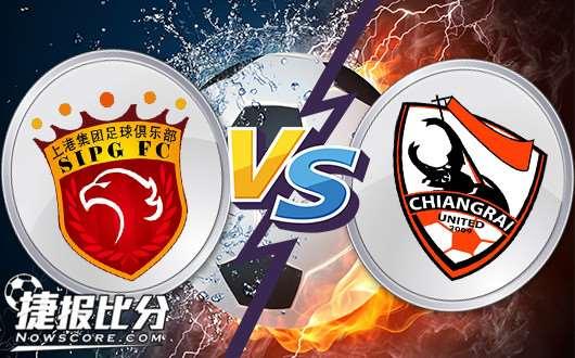 上海上港vs清莱联 新年新帅新气象