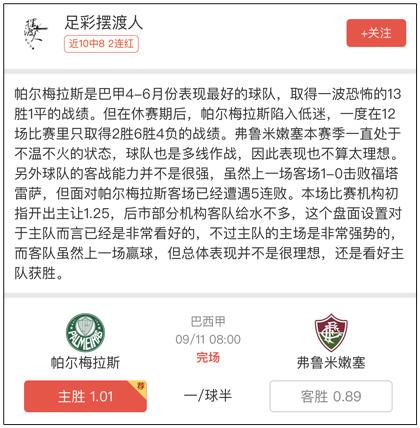 昨日周榜:出入求财推7中5 篮球情歌3场全红