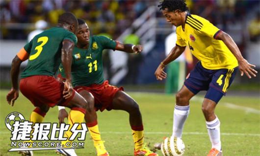 喀麦隆VS智利  非洲雄狮依然沉睡