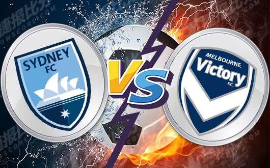 悉尼FCvs墨尔本胜利 墨尔本客场攻防乏力