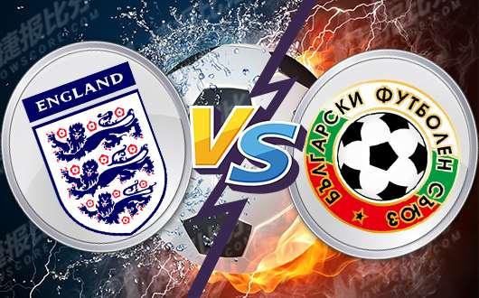 英格兰vs保加利亚 英格兰当属预选赛之王