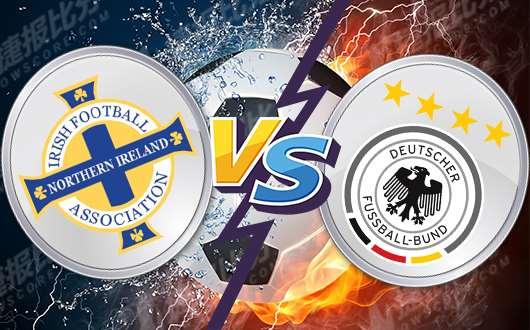 北爱尔兰vs德国 德国队知耻而后勇