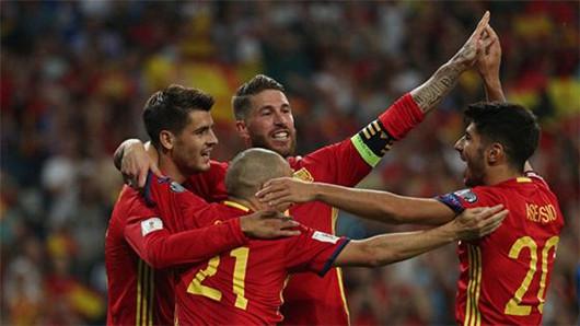 2018世界杯数据:西班牙vs伊朗 历史战绩分析