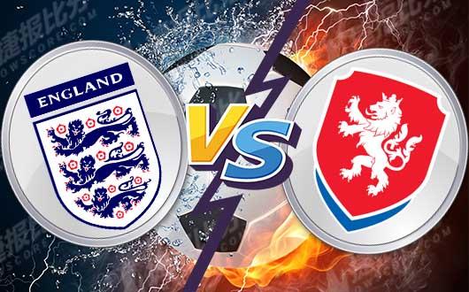 英格兰vs捷克  三狮军团开局遇考验