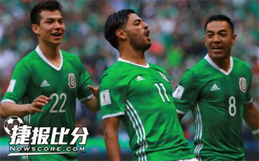 葡萄牙VS墨西哥  比赛精彩两队实力不相上下
