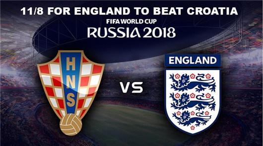 克罗地亚vs英格兰 首发与看点
