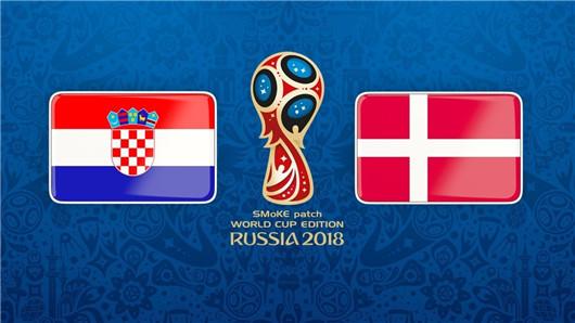 克罗地亚vs丹麦半场博弈:丹麦防线固若金汤