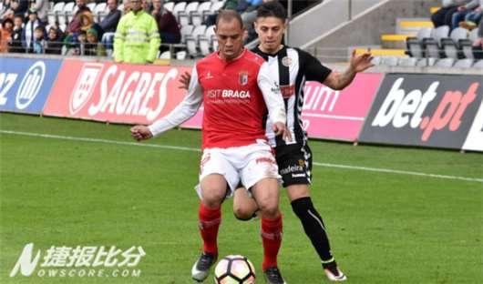 11日葡联杯赔率分析:马里迪莫VS布拉加