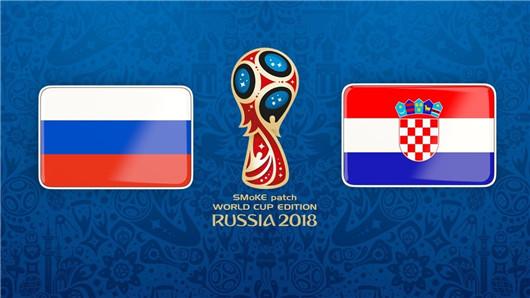 俄罗斯vs克罗地亚半场博弈:格子军团你值得拥有
