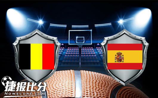 西班牙女篮vs比利时女篮  比利时血拼到底