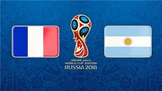 法国vs阿根廷半场博弈:法国掌控主动权