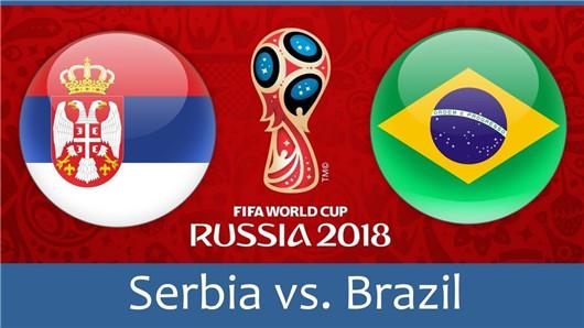 塞尔维亚vs巴西半场解读:半场罐头撬开不易