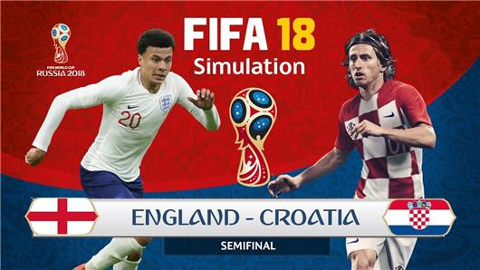 克罗地亚vs英格兰 三狮军团渐入佳境