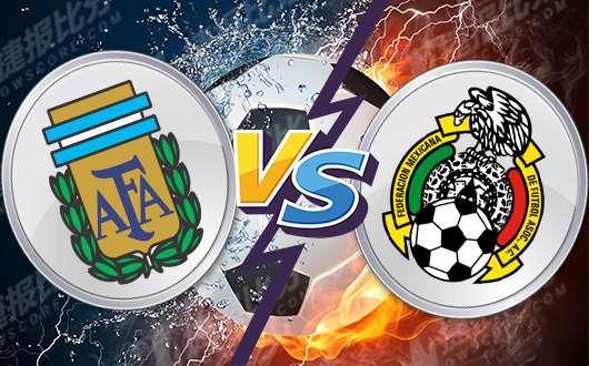 阿根廷vs墨西哥 墨西哥状态出色