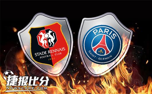 雷恩vs巴黎圣日耳曼 巴黎也玩养生足球