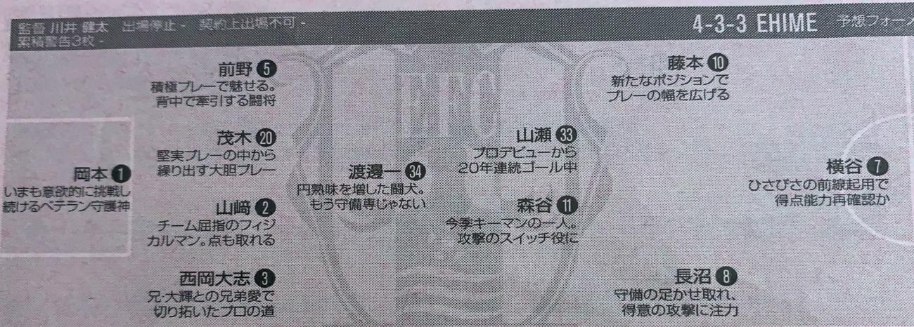 27日日职乙国外情报:爱媛FCvs德岛漩涡