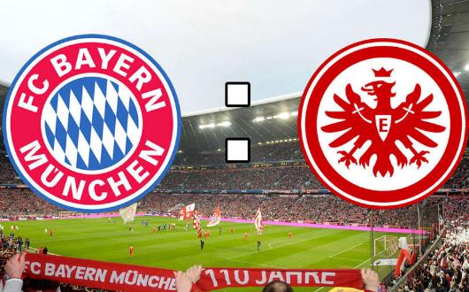 拜仁慕尼黑vs法兰克福首发:莱万穆勒罗本领衔