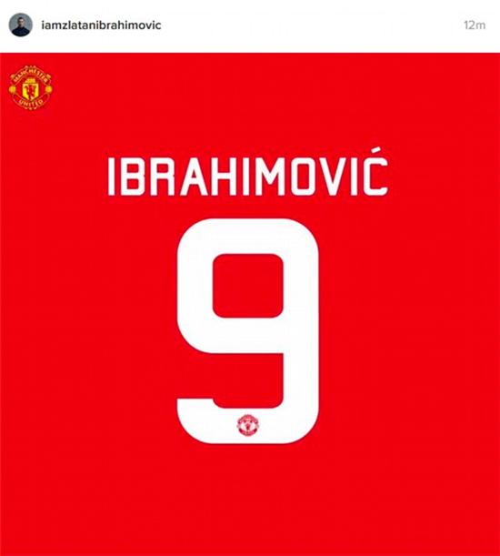 伊布成曼联9号,马夏尔疑似不满号码遭抢-足球