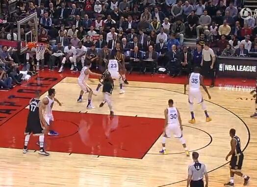 2016年11月17日NBA常规赛 猛龙VS勇士 全场集锦