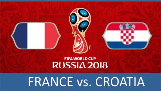 法国vs克罗地亚半场博弈